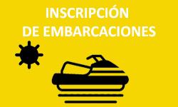 Inscripción de embarcaciones